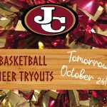 Basketball Cheer Tryouts Tomorrow, Oct. 24