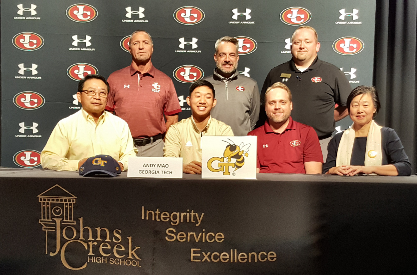 Andy Mao to play golf at Georgia Tech