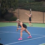 Girls Varsity Tennis Pulls Out a Close One Against Mill Creek HS