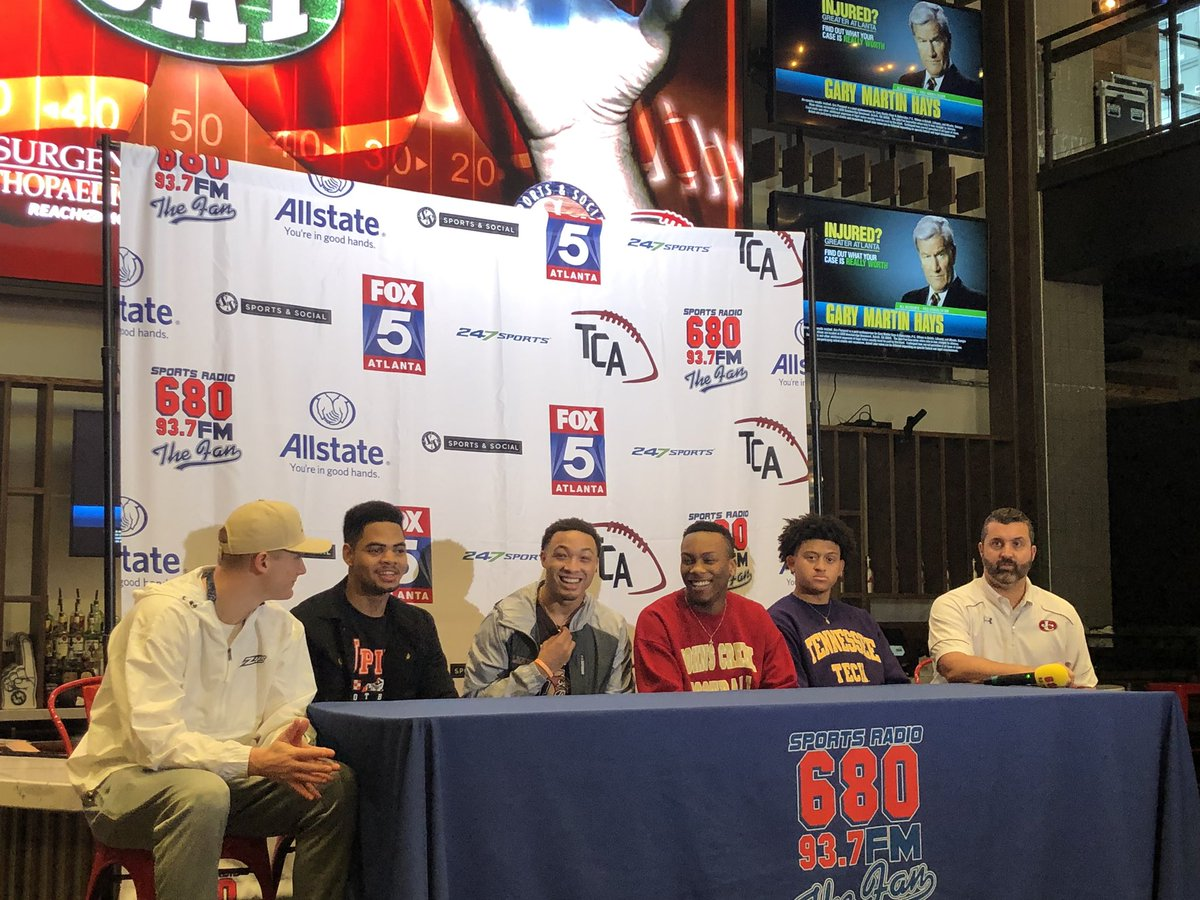 Johns Creek Players Participate in Signing Day