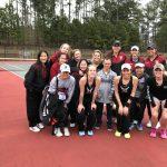 Johns Creek Varsity Girls Tennis Defeats Dunwoody 4-1 at Home