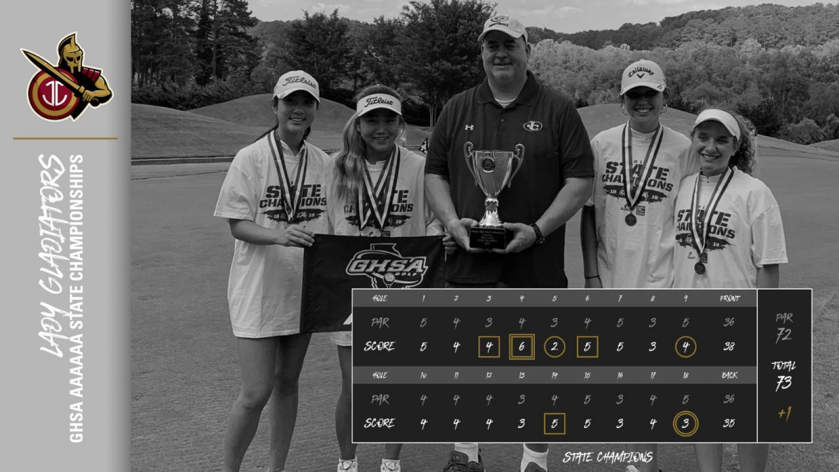 Lady Gladiators Golf Captures GHSA State Title
