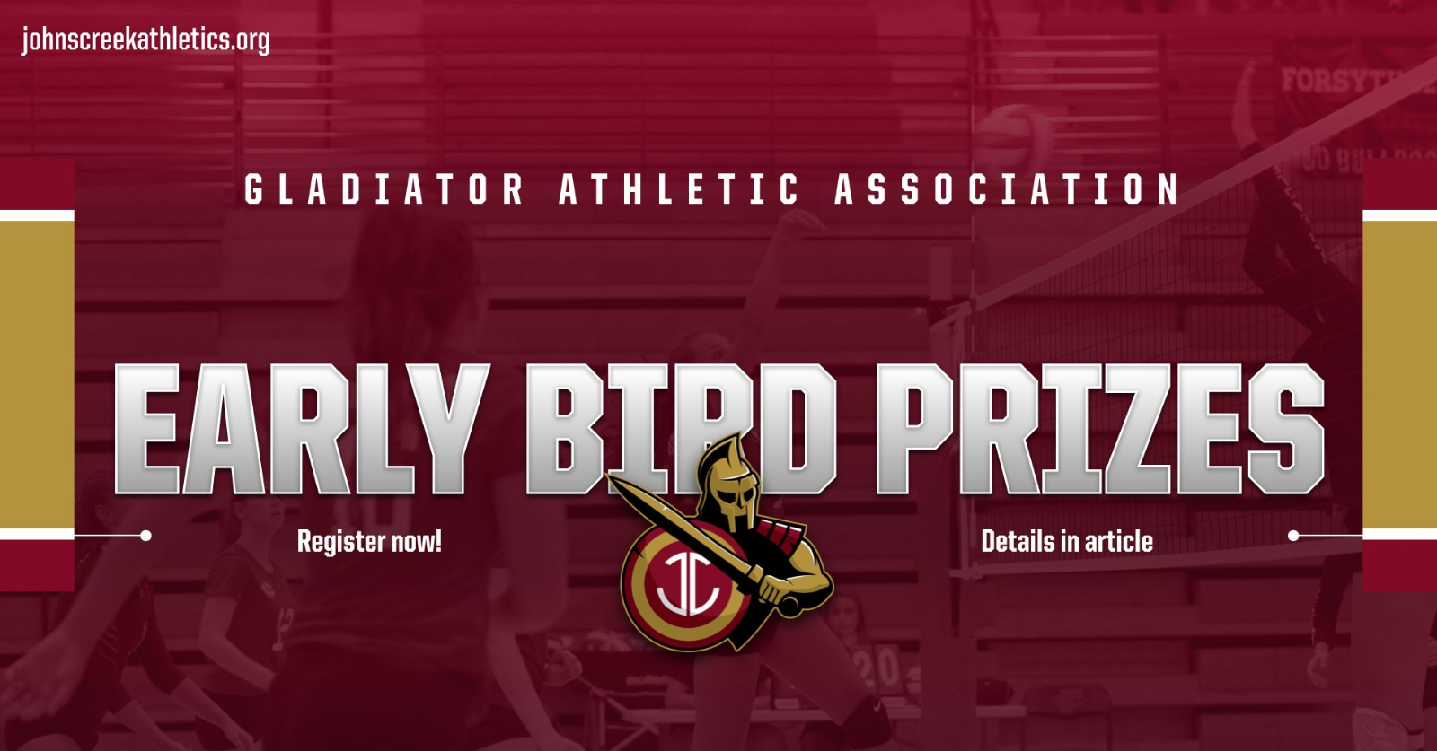 GAA Membership – Early Bird Prizes