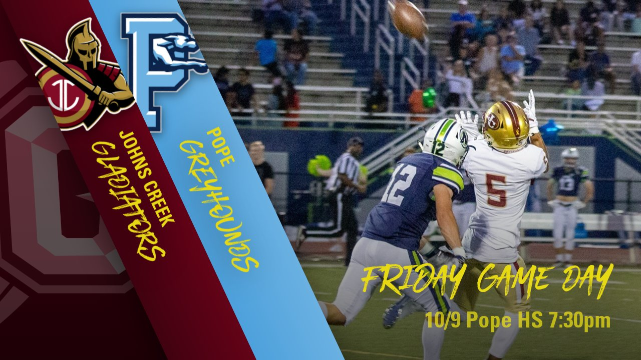 Important Ticket Information for Football Game at Pope 10/11
