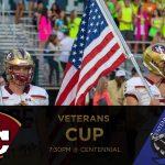 3rd Annual Memorial Veterans Cup