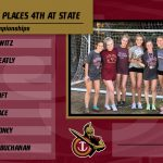 Girls Cross Country places 4th at State Championships