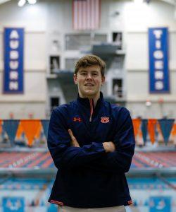 Andrew Simmons (Class of 2021) commits to swim at Auburn University