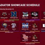 Gladiator Showcase Day 1 Results