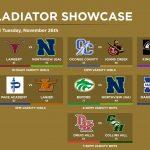 Day 3 Gladiator Showcase Results