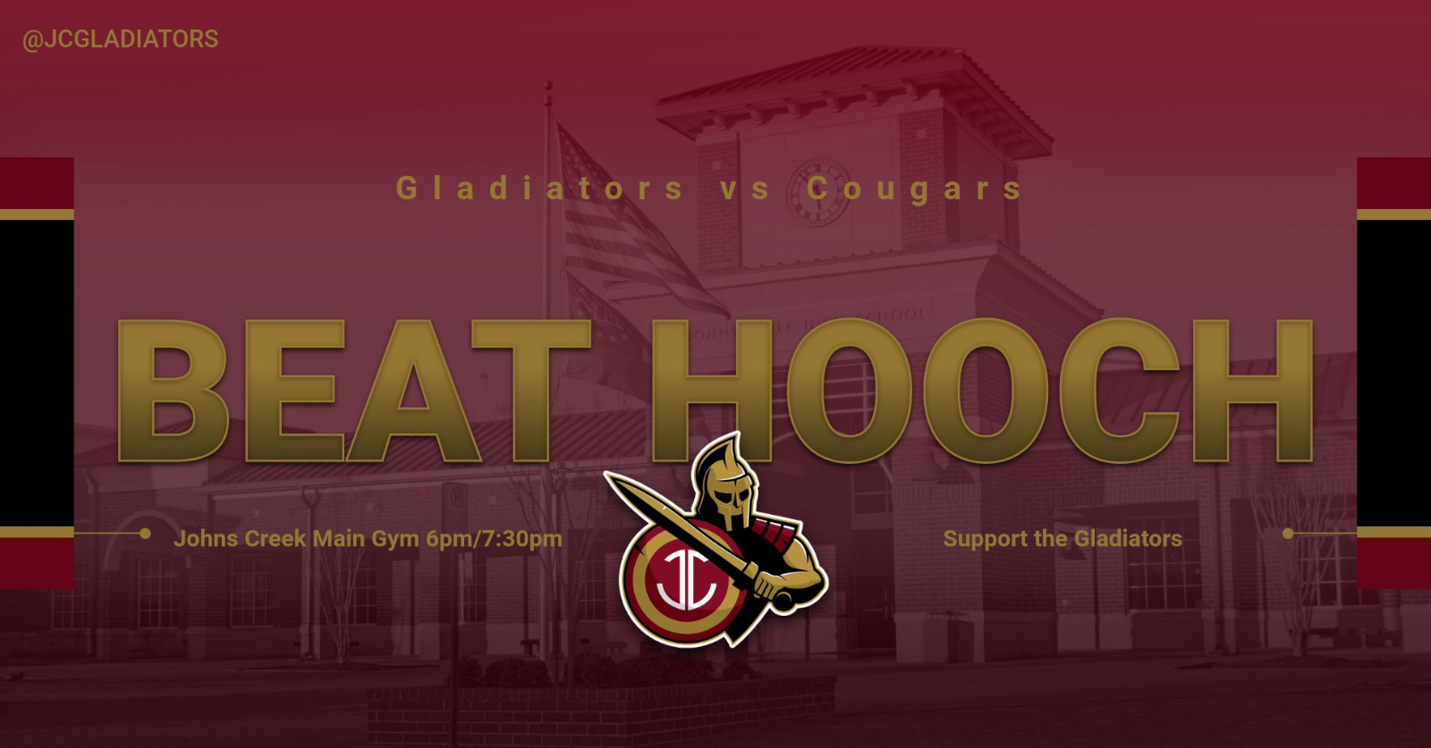 Basketball – Gladiators to play Chattahoochee at home 12/3