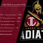 This Week in Athletics at THE CREEK