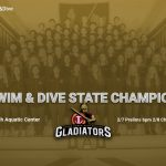 Swim & Dive Team Competes at State Championships