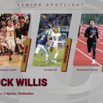 Senior Spotlight – Triple Threat Athlete Nick Willis