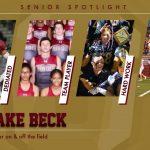 Senior Spotlight – Jake Beck