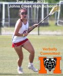 JCHS Junior Commits to Play Women's Lacrosse at Mercer
