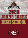 Gladiator Athletics Newsletter – Fall 2020