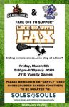 Lace Up With Lax Event on March 5