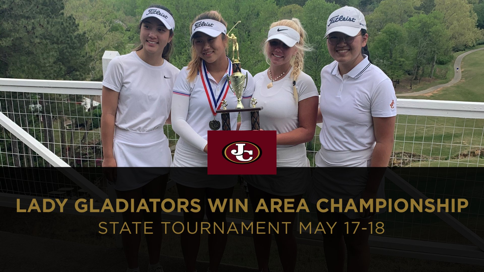 Lady Gladiators Win Area 3-AAAAAA Championship