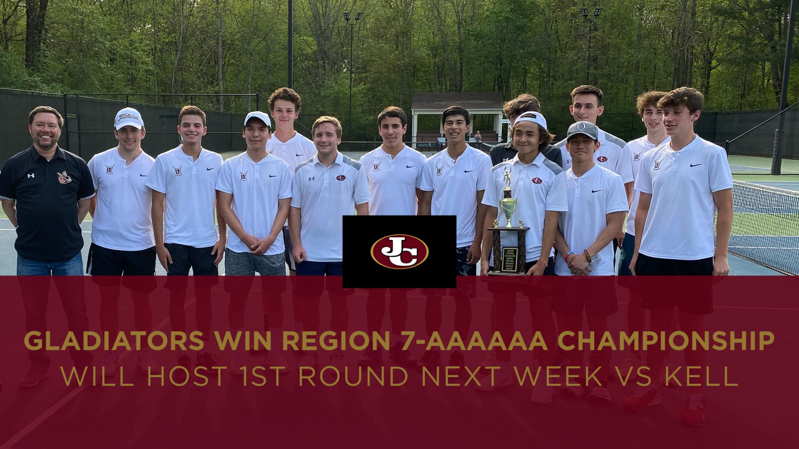Gladiators capture their 3rd straight Region 7-AAAAAA Championship
