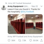 CultureCreated | LOOK: Army makes classy departure after OT defeat vs Oklahoma