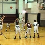 A.J. McMullen Boys' Basketball Comes Up Short Against Albert Gallatin