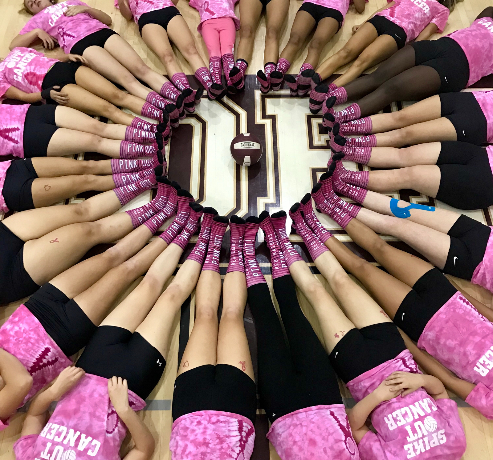"UHS Volleyball: ""Pink Power"""