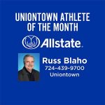 Congratulations to December's Athlete of the Month- Sponsored by Allstate Russ Blaho!