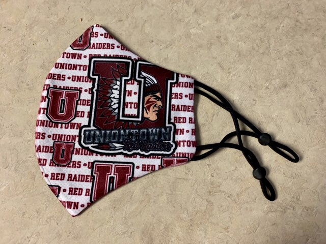 UHS adjustable Mask $10. Text 724-562-2764 to purchase