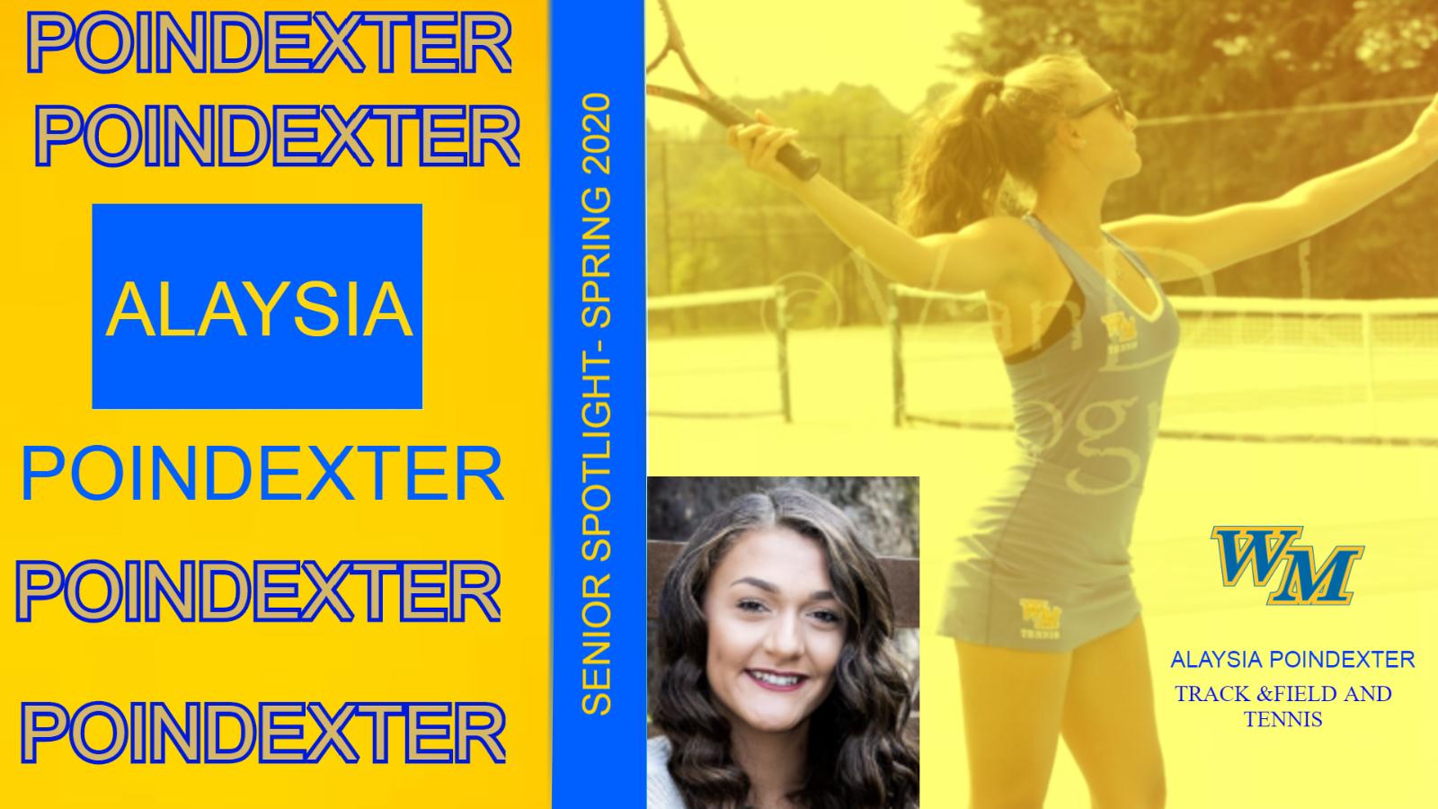 Senior Spotlight – Alaysia Poindexter