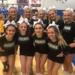 Varsity Competitive Cheer Finishes 4th Place at Royal Rumble