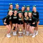 Varsity Cheer Takes First Place at Lake Central Invitational