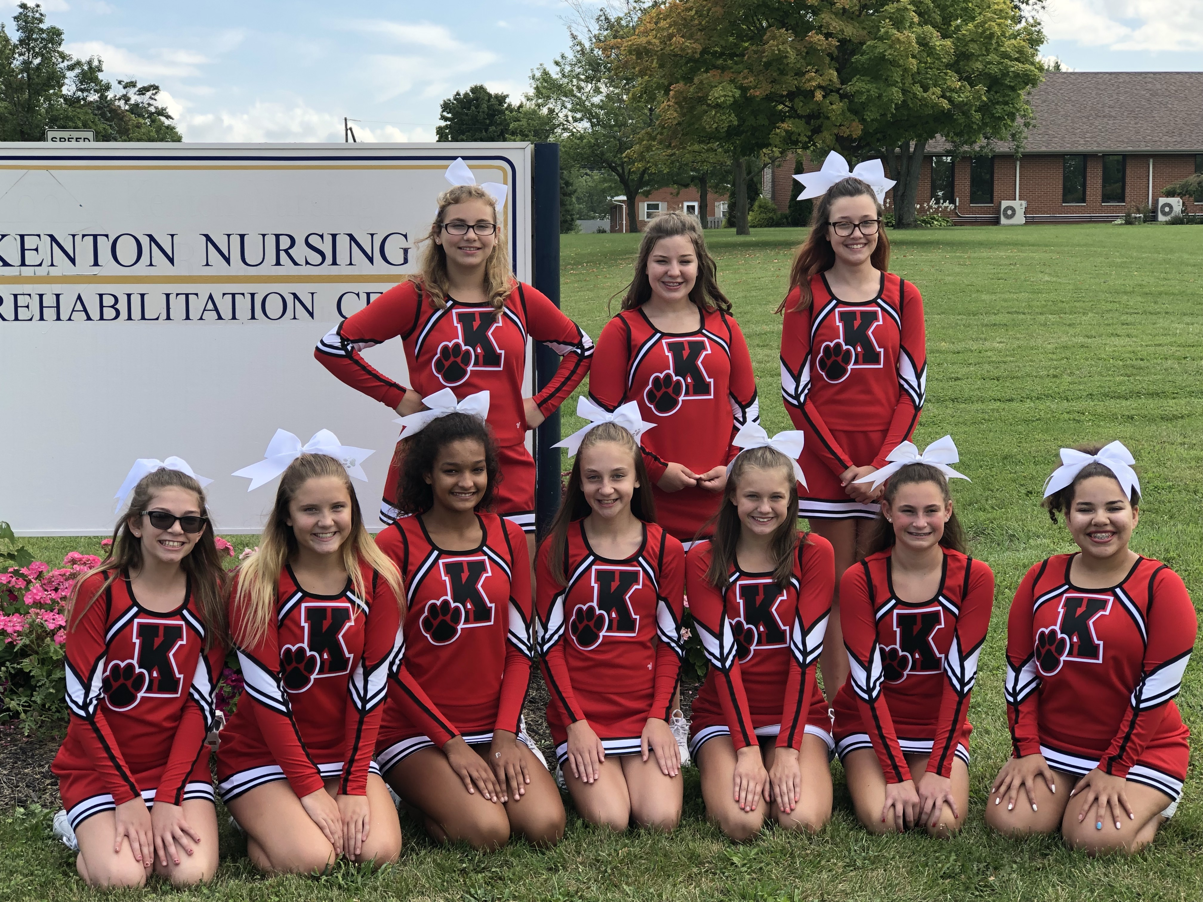 #SGBC18 – Students Give Back Challenge 2018: KMS Cheer