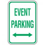 Event Parking:  Winter Sports