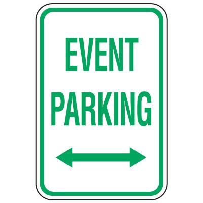 Event Parking:  Winter Sports