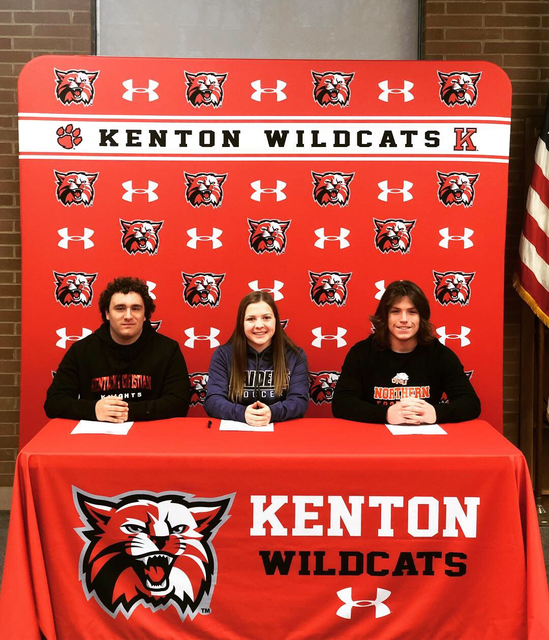 Hunt, Lawrence, and Lyons To Continue Their Athletic Careers At The Next level