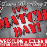 IT'S MATCH DAY! Kenton Wrestling Faces Celina Tonight!