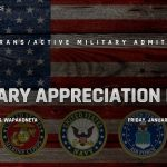 Military Appreciation Night 1/17/20