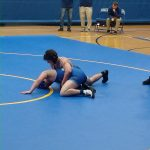 The Wildcats wrestling team drop dual against St. Marys