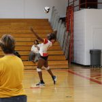 Girls Varsity Volleyball Falls To League Leader