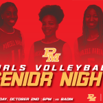 Join Us Tuesday for Girls Volleyball Senior Night