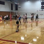 Girls Varsity Volleyball falls to Archbishop McNicholas 3 – 0