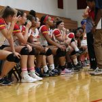 Girls Varsity Volleyball beats Mars Hill Academy 3 – 2
