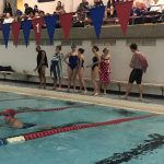 Swimming Finishes 3rd at Tri-Meet