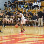 Boys Varsity Basketball beats Badin 64 – 52