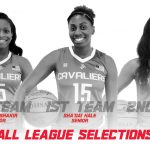 Three Cavaliers earn All-GCL Honors in Girls Basketball