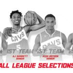 Four Boys Varsity Basketball Players receive All-GCL Honors