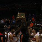 Boys Varsity Basketball beats National Trail 51 – 31 for National Trail
