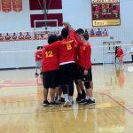Boys Varsity Volleyball falls to Badin 3 – 0