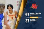 Girls Varsity Basketball beats Carroll 47 – 37