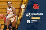 Girls Varsity Basketball beats Bishop Fenwick 45 – 21